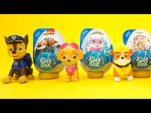 Щенячий Патруль сюрпризы и игрушки из любимого мультика