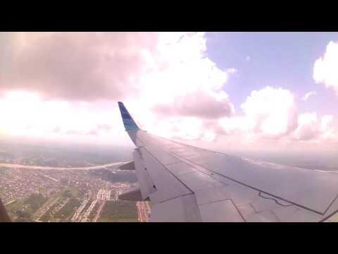 garuda indonesia landing in pontianak