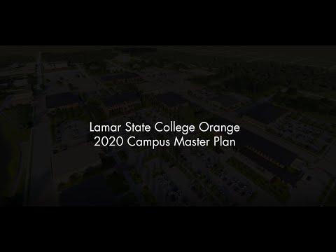 Lamar State College Orange Master Plan 2020