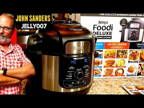 2019-ninja-foodi-deluxe-8qt-pressure-cooker-first-look-|-water-test-|-unboxing-fd402-brand-new-model