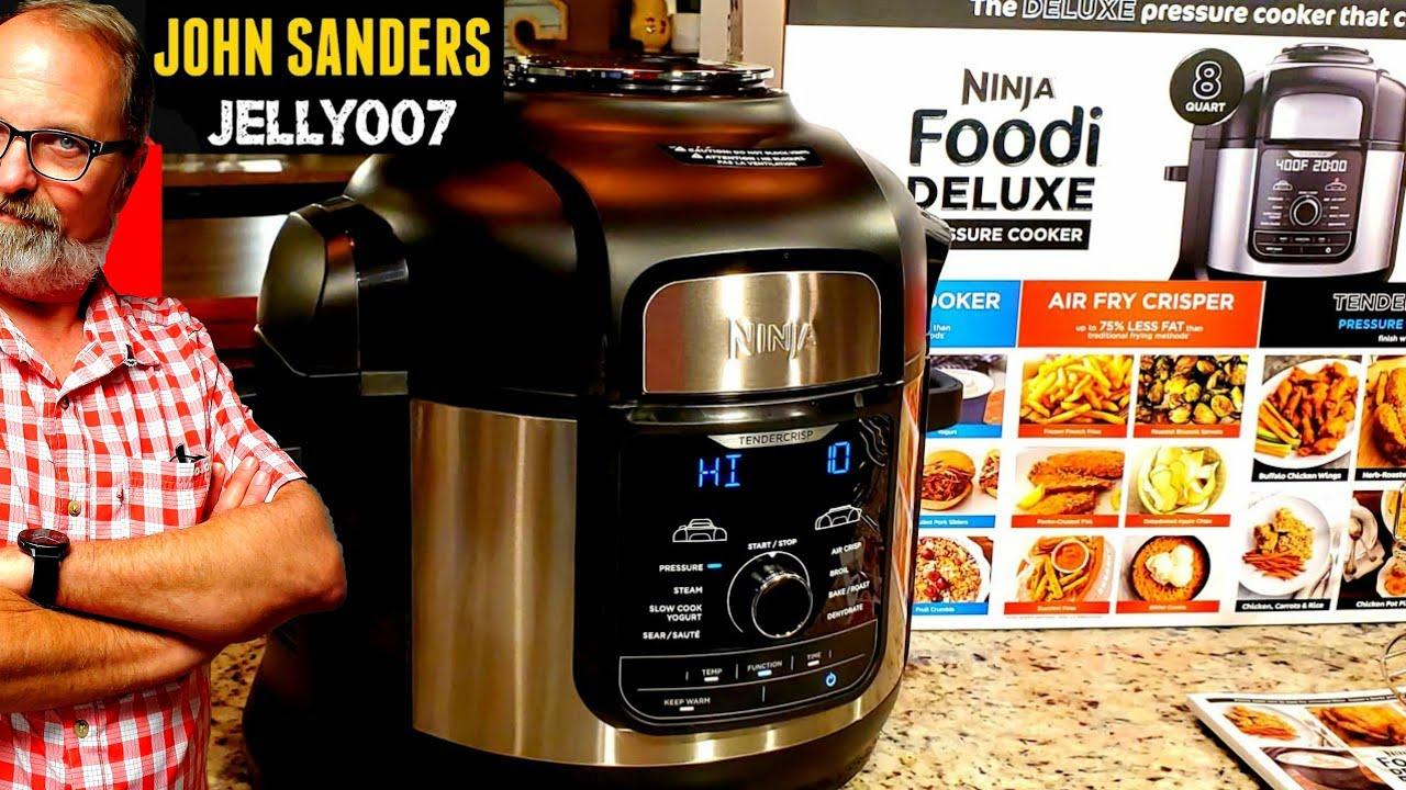 2019 ninja foodi deluxe 8qt pressure cooker first look