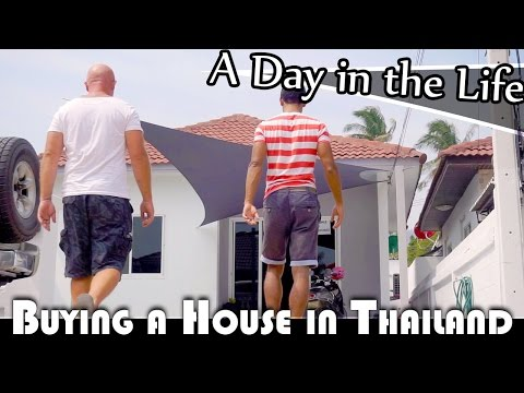 BUYING A HOUSE IN THAILAND - LIVING IN THAILAND DAILY VLOG (ADITL EP233)