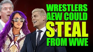 10 Unhappy WWE Wrestlers Who All Elite Wrestling Could SNEAKILY Steal!