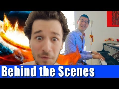 End Of The World Musical - BEHIND THE SCENES | AVbyte