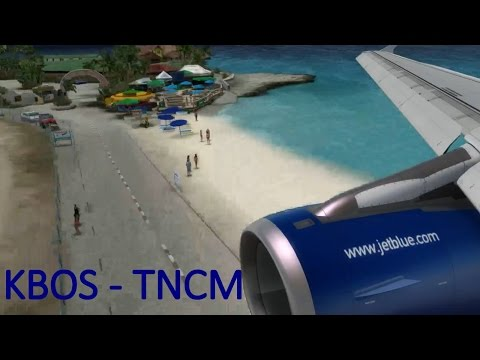 Boston - Sint maarten | Jetblue A320