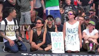 Germany: Berlin neo-nazi demo cancelled after heavy counter-protests