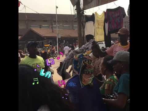 Les gourmettes a Mokolo !!!... The market Marché Mokolo at Cameroon, Centre, Yaounde