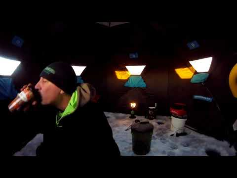Lake Wazee First Ice Fishing Trip 2018 Part One...