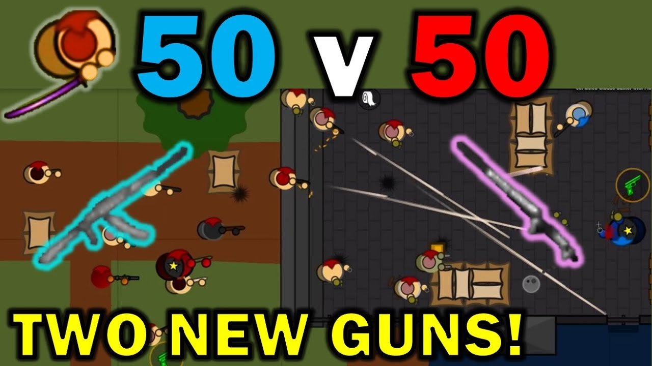 EVERYTHING YOU NEED TO KNOW ABOUT 50v50 in Surviv io