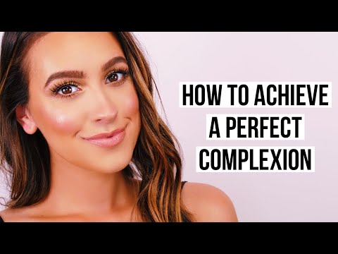 HOW TO ACHIEVE A PERFECT COMPLEXION - YouTube