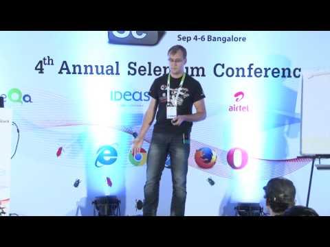Increase Selenium tests stability via JavaScript by Igor Khrol @ Selenium Conf 14