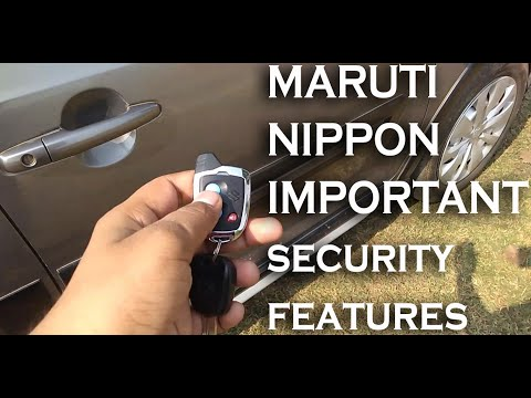 Three Hidden Security Feature Of Maruti Suzuki Nippon Centra