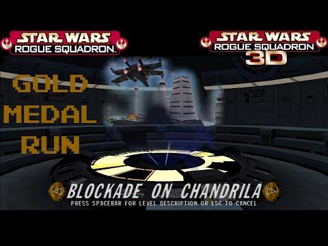 Rogue Squadron 3D 13 Blockade on Chandrila - Gold Medal Run