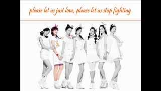 A Pink - Let us just love (+english lyrics)