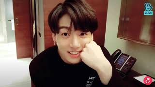 BTS Jungkook Vlive Eng Sub where he talks about Armys 04.2019