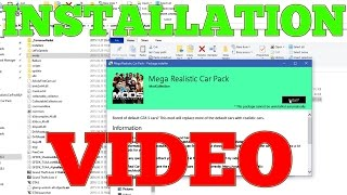 How to Install Mega Realistic Car Pack 4.0: Automatic Installation (310 CARS)