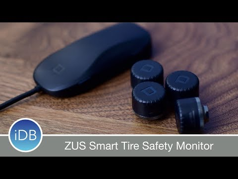 Drive Safer with ZUS Smart Tire Safety Monitor - Review