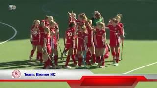 1. Feldhockey-Bundesliga Damen DHC vs. Bremer HC 30.09.2018 Highlights