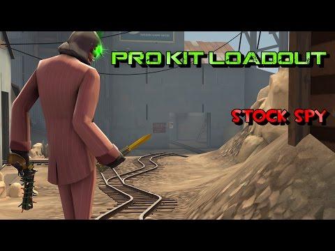 TF2: Pro Kit Loadout Stock Spy (Gameplay Commentary)