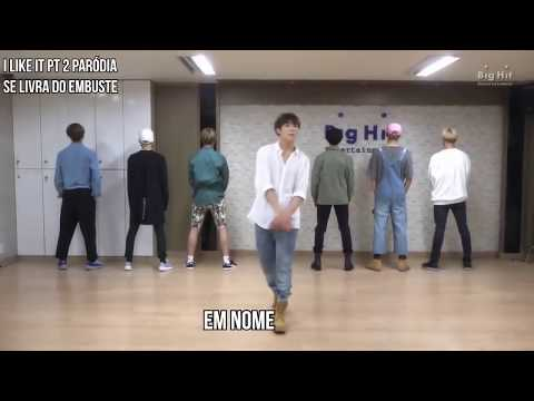 SE LIVRA DO EMBUSTE - WTF BANGTAN? - PARÓDIA I LIKE IT PART.2