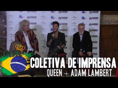Coletiva de Imprensa Queen + Adam Lambert - RiR 2015 [Legendado]