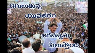 Gambar cover Y.S Jagan || Raguluthunna yuvatharam || video song || Prajasankalpa yatra || Rayalaseema Television