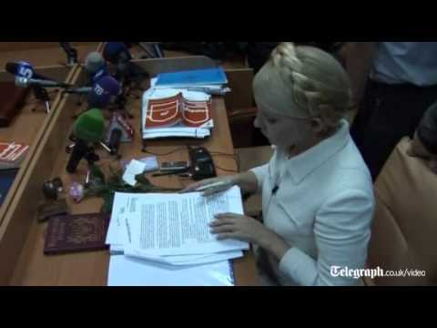 Yulia Tymoshenko calls Ukraine judge a 'puppet of president'