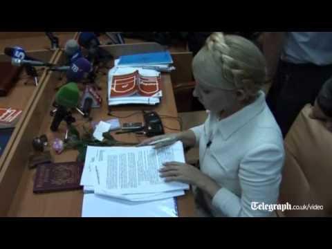 Yulia Tymoshenko calls Ukraine judge a