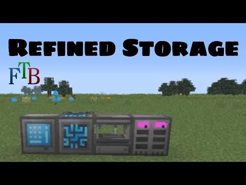 Refined Storage Tutorial - The Basics - Modded Minecraft Spotlight
