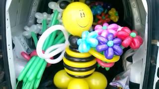 Магия шаров | Воздушные шары купить в Казани. Доставка фигур и гелиевых шариков.(, 2015-06-24T20:57:18.000Z)