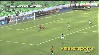 Santos Laguna vs real españa 3-2 [16/08/11] Concacaf Liga de Campeones