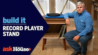 Record Player Stand | Build It | Ask This Old House