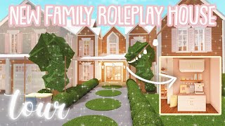 NEW Bloxburg Roleplay Family House Tour! Roblox Bloxburg YouTube Videos