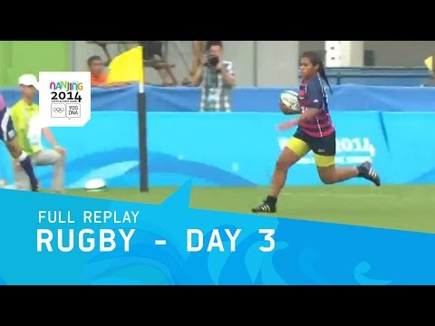 Rugby - Men and Womens Final Group Matches | Full Replay | Nanjing 2014 Youth Olympic Games