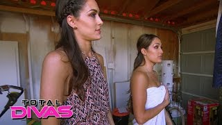 daniel bryan plays a trick on houseguest nikki bella total divas july 28 2015