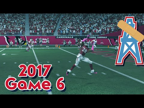 Madden 15 Franchise Mode - Houston Oilers | Season 4, Game 6 @ Cardinals
