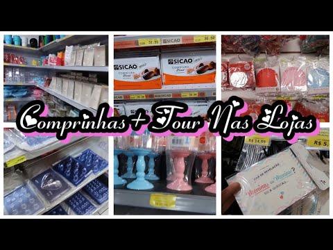 COMPRINHAS DE CONFEITARIA + TOUR NAS LOJAS QUE SEMPRE COMPRO - VLOG