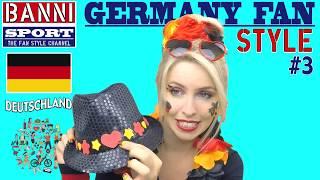 "Nationaler Fan Style ""Deutschland"" - BEST Sport Make up - Teil 3 ""Funny Banni"""