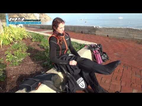 D9 Breathable - сухой гидрокостюм Waterproof