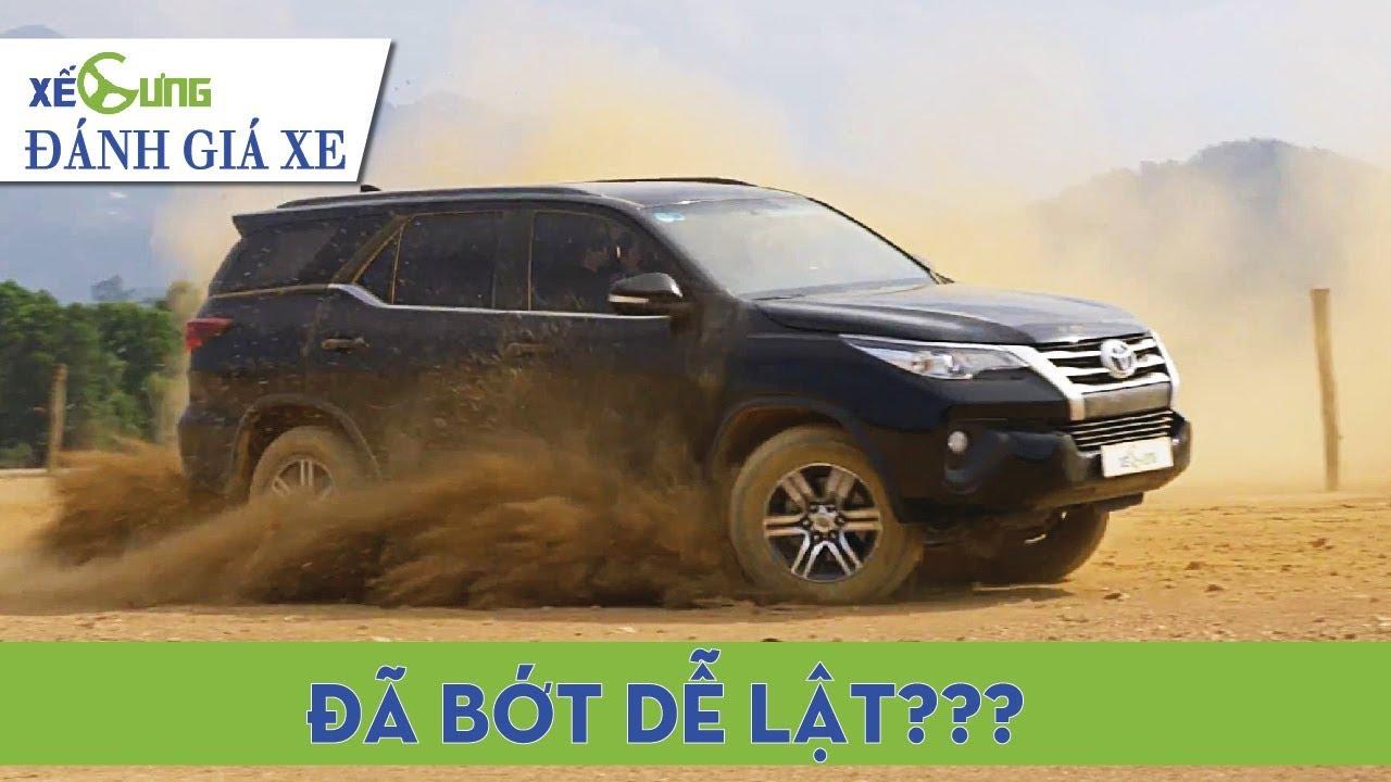 """Toyota Fortuner máy dầu: với trang bị an toàn tối thiểu, """"thánh"""" còn dễ lật không?"""