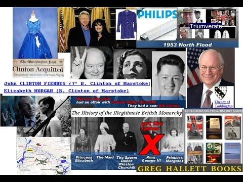 Bastard Clinton, Lewinsky & EVA Braun's Spunky BLUE DRESS UK WW2 Inc