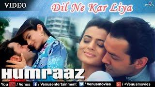 Video Dil Ne Kar Liya Aitbaar Full Video Song | Humraaz | Bobby Deol, Amisha Patel | Udit Narayan, Alka download MP3, 3GP, MP4, WEBM, AVI, FLV Maret 2018