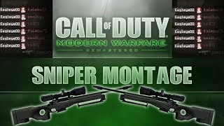 MWR Sniper Quick Scope Montage (Modern Warfare Remastered)