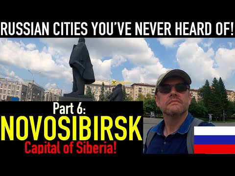 NOVOSIBIRSK! Visiting Russian cities you've probably never heard of. PART 6:The capital of Siberia!