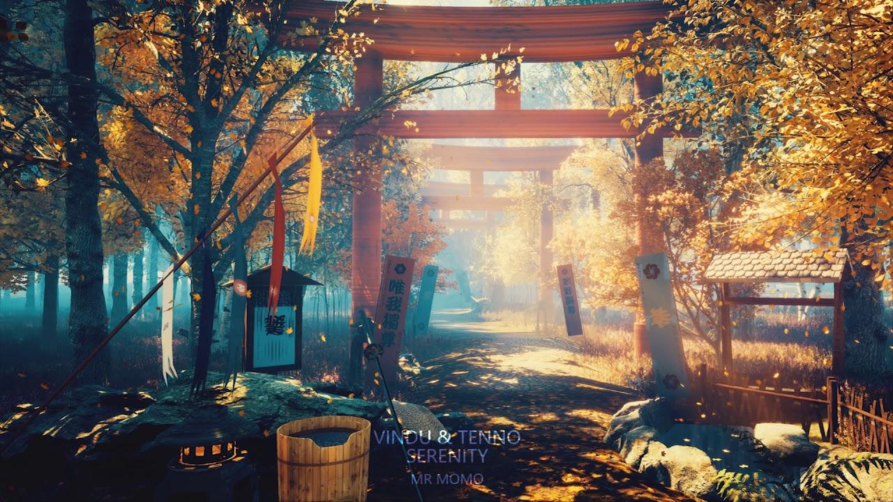 Japanese Lofi Type Music Serenity By Vindu Tenno Youtube