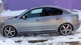 видео Mazda 3 Седан ::: Тюнинг Mazda 3 Sedan / Мазда 3 Седан, Обвес Mazda 3 Sedan / Мазда 3 Седан, Спойлер на Mazda 3 Sedan / Мазда 3 Седан, реснички Mazda 3 Sedan / Мазда 3 Седан, Решетка радиатора Mazda 3 Sedan / Мазда 3 Седан