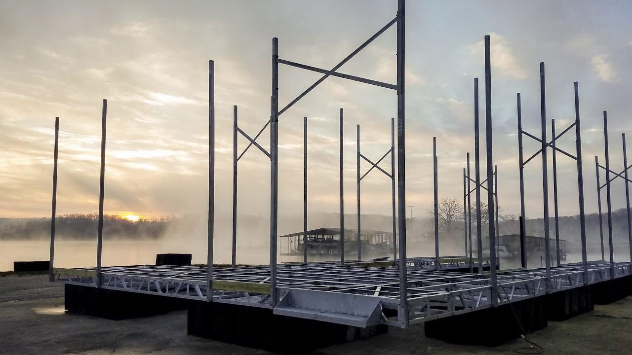 Boat Dock Builders Lake of The Ozarks | H & R Docks