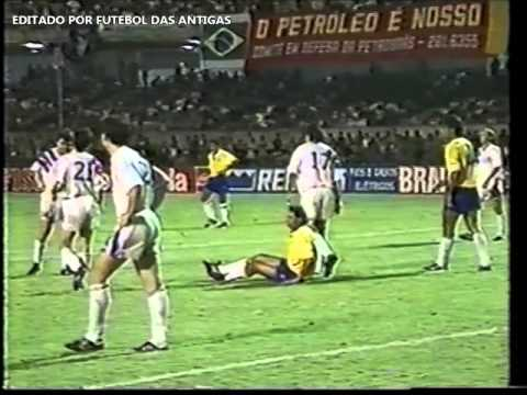 AMISTOSO 1992   BRASIL 3X0 EUA - GLOBO - OLIVEIRA ANDRADE