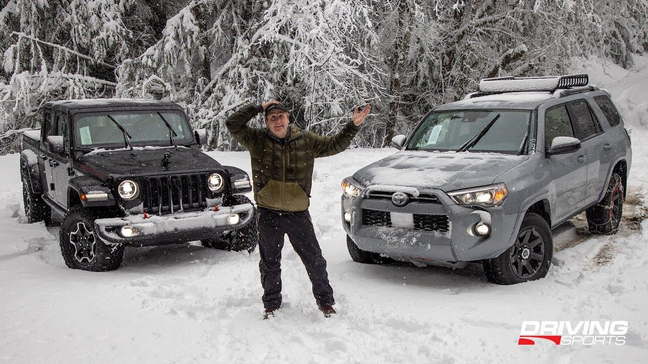 2021 Toyota 4Runner & Jeep Gladiator Diesel: Off-Road Snow Adventure