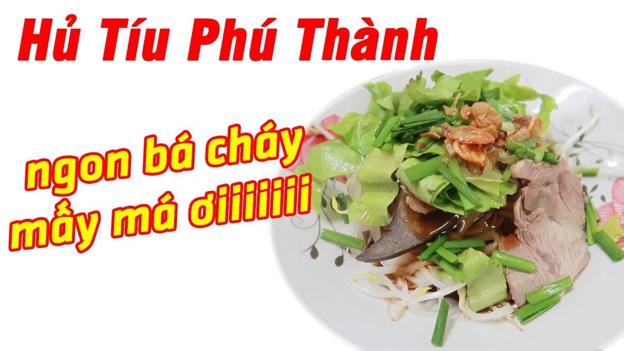 Review Hủ Tíu Phú Thành - Du Lịch Ăn Uống Đồng Tháp